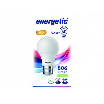 Energetic Led bulb A60 60W E27 mat