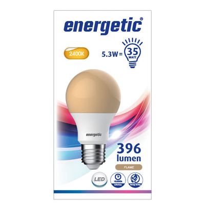 Energetic Led standaard e27 35wf