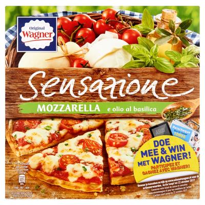Original Wagner Sensazione Mozzarella met Kerstomaten 350 g