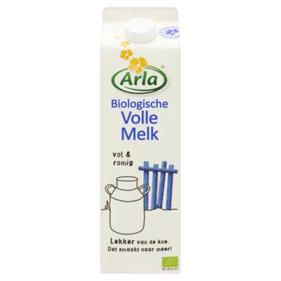 Arla Biologische Volle Melk 1 L