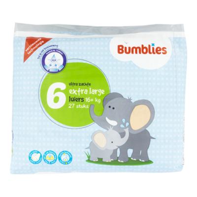 Bumblies Luiers Extra Large 6