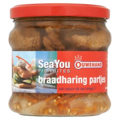 Ouwehand braadharing partjes 180 gram