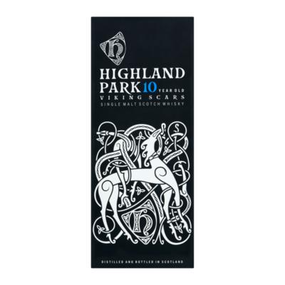 Highland Park 10 Years viking scars