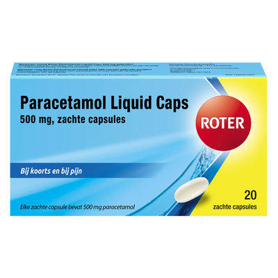 Roter Paracetamol liquid caps 500 mg