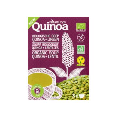 NatureCrops Organic Quinoa Soup Lentil