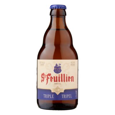 St Feuillien Belgisch Abdijbier Tripel Fles