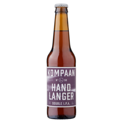Kompaan Hand Langer Double I.P.A. Fles