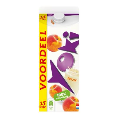 Yoki Drinkyoghurt Perzik Voordeelpak