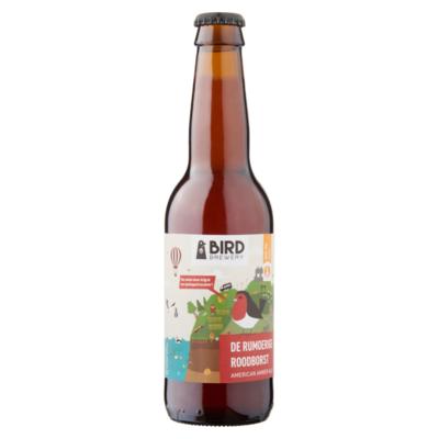 Bird Brewery de Rumoerige Roodborst American Amber Ale Fles