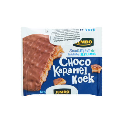 Jumbo Choco Karamel Koek