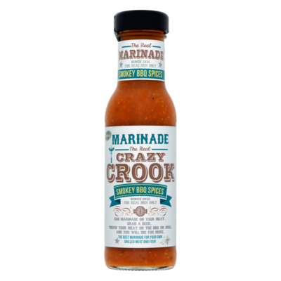 Remia Marinade The Real Crazy Crook Smokey BBQ Spices