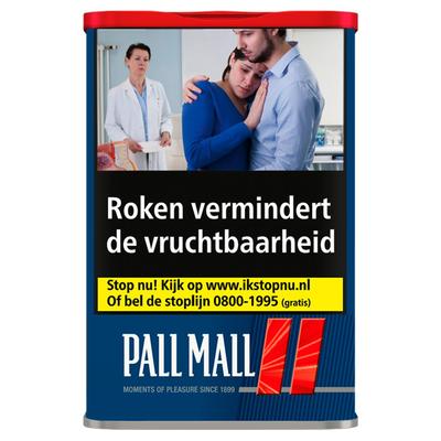 Pall Mall Red VT L Tin 60 g