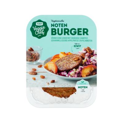 Huismerk Veggie Chef Vegetarische Noten Burger