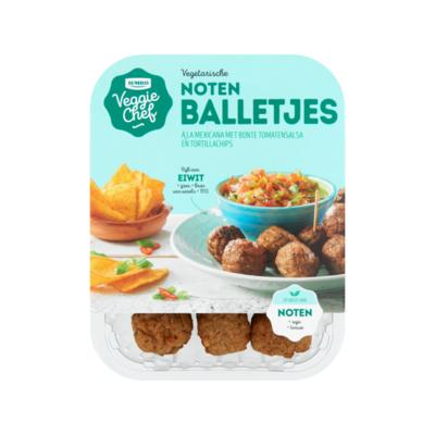 Huismerk Veggie Chef Vegetarische Noten Balletjes