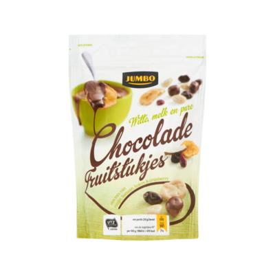 Huismerk Chocolade Fruitstukjes