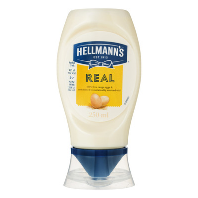 Hellmann's Real mayo squeeze