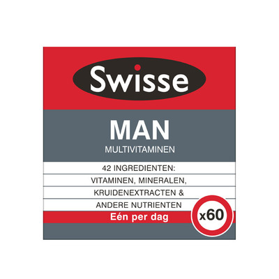 Swisse Multivitaminen man