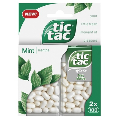 Tic Tac mint duo pack mint