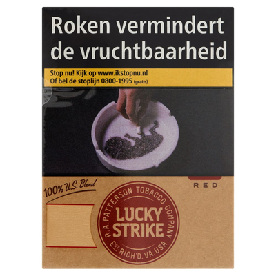 Lucky Strike 100% US Blend Red XXL 27