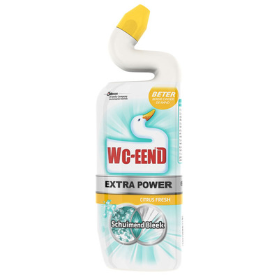 WC Eend Extra power schuimend bleek citrus fresh