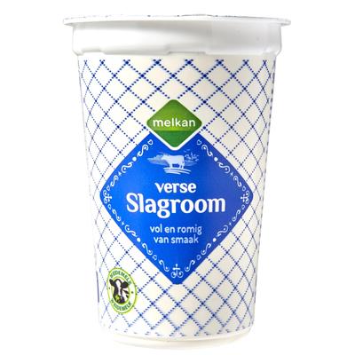 Melkan Slagroom 25% Vet