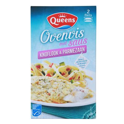 Queens Ovenvis knoflook & parmezaan