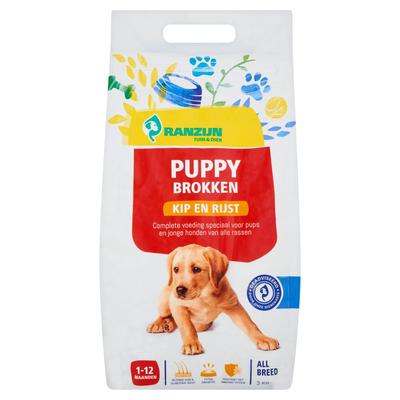 Ranzijn Puppy Brokken Kip en Rijst 3 kg