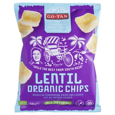 Go-Tan Lentil chips organic bio