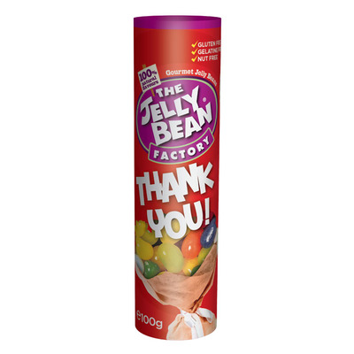 Jelly Bean Factory Thank you tube