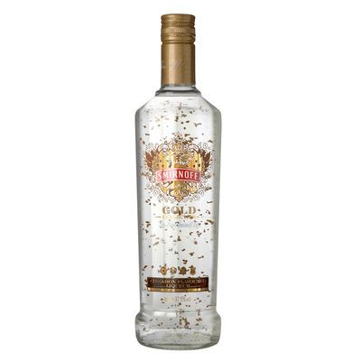 Smirnoff Gold cinnamon flavoured liqueur