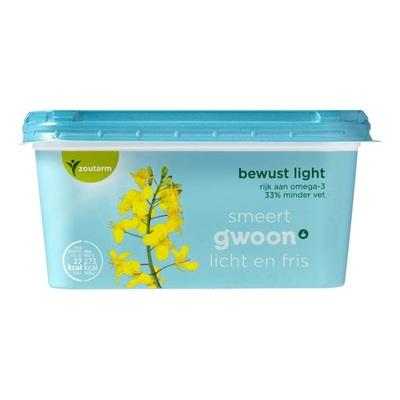Huismerk margarine bewust light kuip