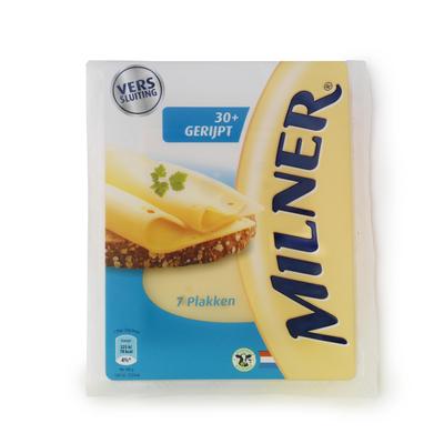 Milner Gerijpte 30+ Kaas Gesneden
