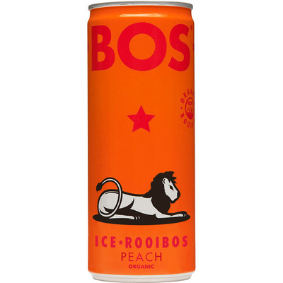 BOS Ice tea rooibos peach