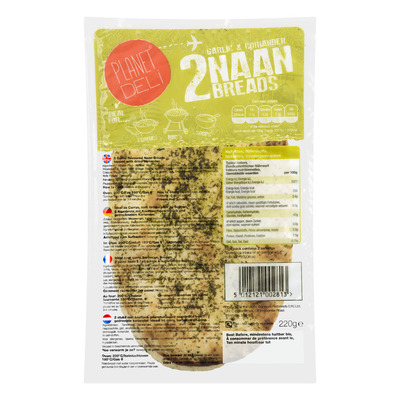 Planet Deli Large garlic & coriander naan