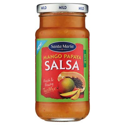 Santa Maria Mango papaya salsa