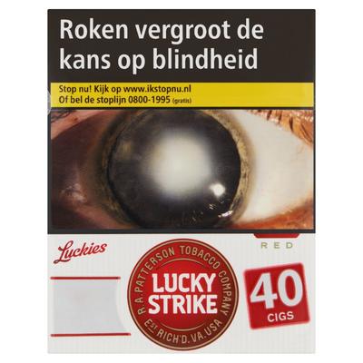 Lucky Strike Red Mega 40 Stuks