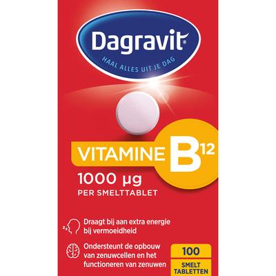 Dagravit Vitamine B12 smelttabletten