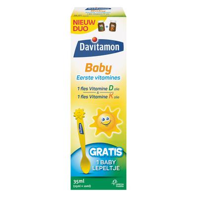 Davitamon Baby eerste vitamines D + K