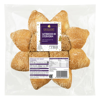 Huismerk Witbrood in stervorm