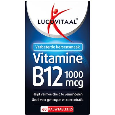 Lucovitaal Vitamine B12 1000 mcg kauwtabletjes