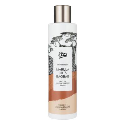 Etos African marula & baobab oil shower cream