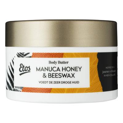 Etos Manuca honey & beeswax body butter