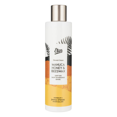 Etos Manuca honey & beeswax shower cream