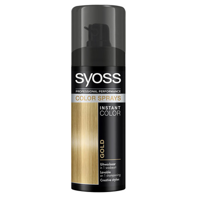 Syoss Colorspray gold
