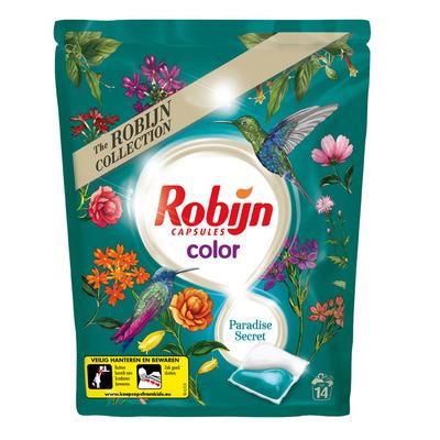Robijn Wasmiddel capsules color paradise sec.