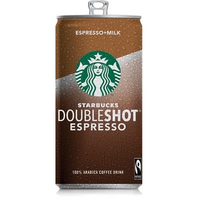 Starbucks Ice coffee doubleshot espresso milk