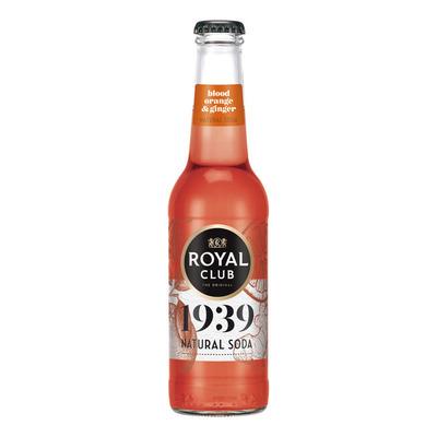 Royal Club Natural soda bloodorange ginger
