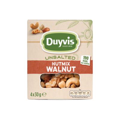 Duyvis Unsalted Noten Nutmix Walnut