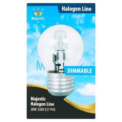 Majestic Halogeen Kaarslamp Dimbaar 28W E27