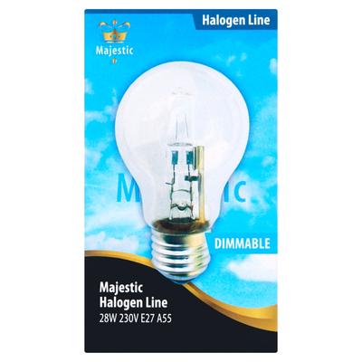 Majestic Halogeenlamp Dimbaar 28W E27